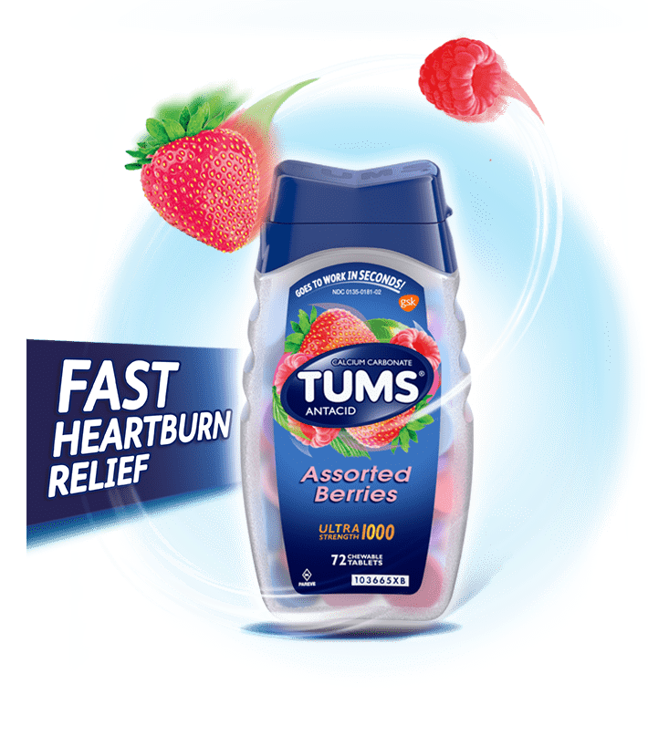TUMS Ultra Strength 1000