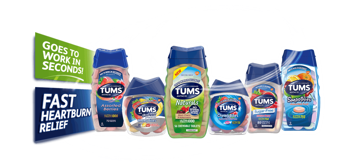 TUMS® Antacids Products