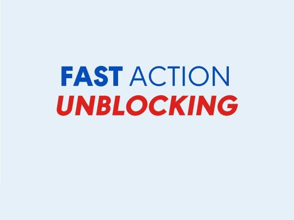 FAST ACTION UNBLOCKING
