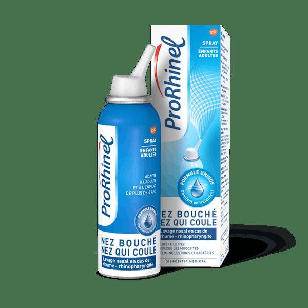 Spray nasal ProRhinel pour enfants et adultes