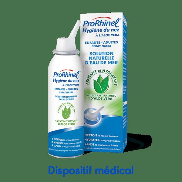 Spray nasal ProRhinel aloe vera pour enfants et adultes