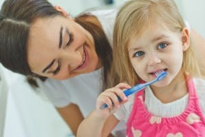 4 Tooth Brushing Tips for Young Children