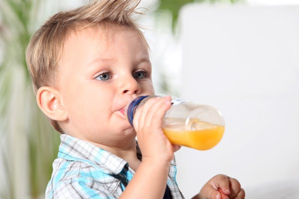 Why You Shouldn't Put Juice in Your Baby's Bottle