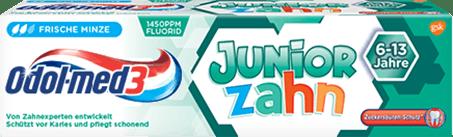 Odol-med3 Juniorzahn Zahnpasta.
