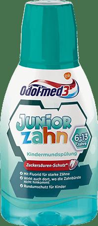 Odol-med3 Juniorzahn Mundspülung.