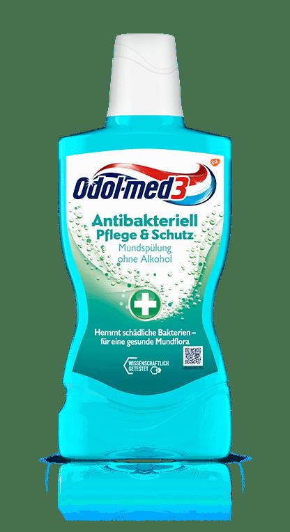 Odol-med3 Mundspülung Antibakteriell Pflege & Schutz