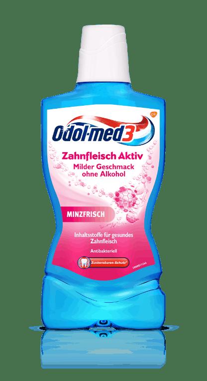 Odol-med3 Mundspülung Zahnfleisch Aktiv.