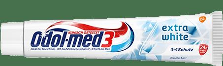 Odol-med3 Extra White Zahnpasta.