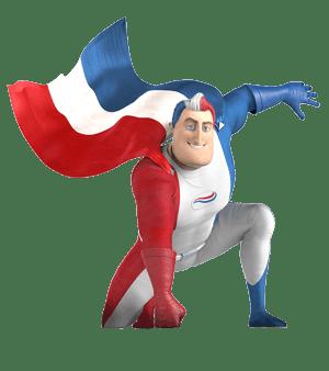 Der Superheld  von Odol-med3 surfend.