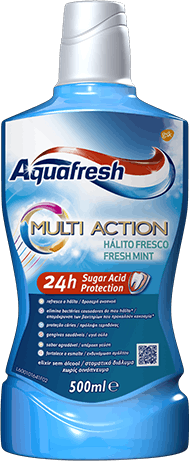 Aquafresh Senses Energising toothpaste yellow and orange packaging.