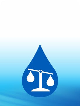 scales icon with blue background