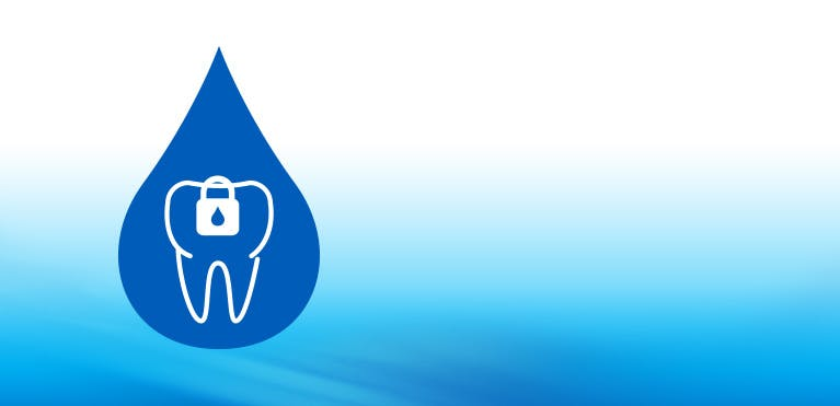 Helps protect teeth icon