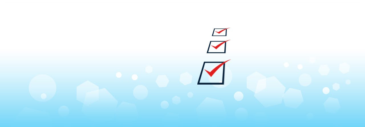 Marked checkboxes