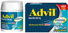 Advil Minis Liquid Capsules
