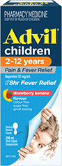 Advil Children 2-12 Years Pain & Fever Relief Suspension