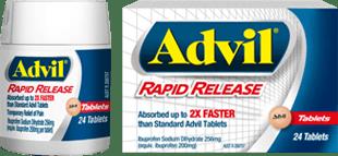 Advil Rapid Release Tablets