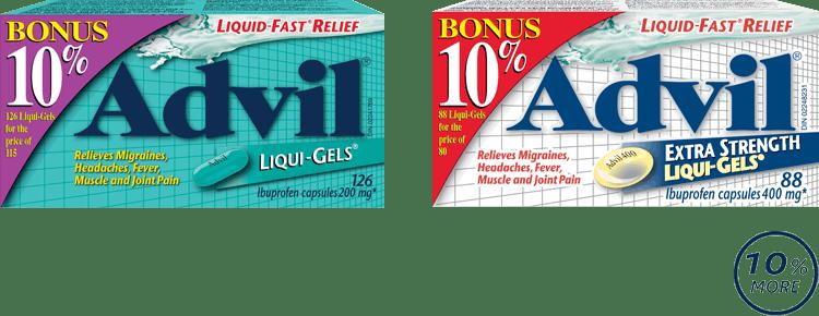 Advil Bonus Web Banner RS LG PACKSHOT EN