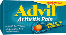 Advil Arthritis Pain package design