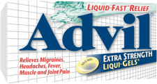 Advil Extra Strength Liqui-Gels package design