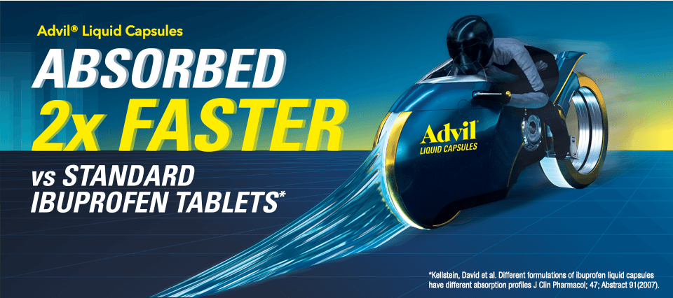 Advil® Liquid Capsules
