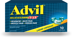 Advil Liquid Capsules 10s