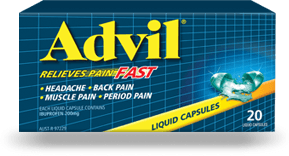 Advil Liquid Capsules 20s