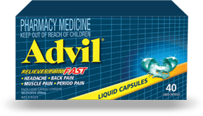 Advil Liquid Capsules 40s