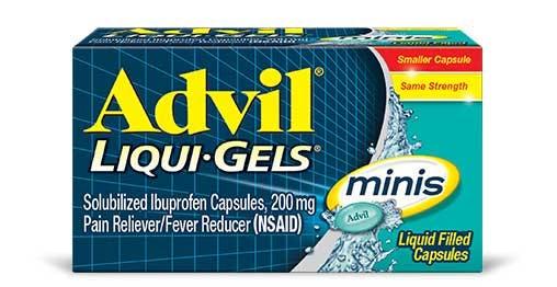 Advil Liqui Gels minis product