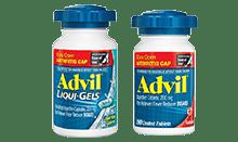 Advil Easy Open Arthritis Cap for minor arthritis pain