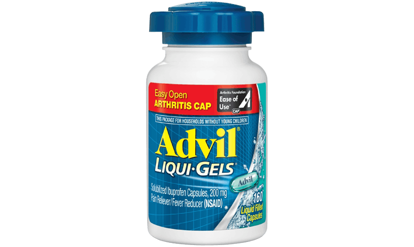 Advil Easy Open Arthritis Cap