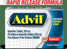 Rapid release formula