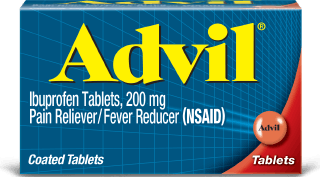Advil coated tablets