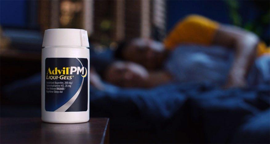 Advil PM Liqui-Gels bottle