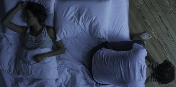 Getting sleep With a restless partner | Advil PM