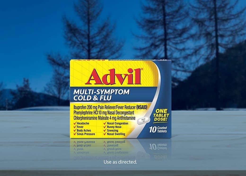 advil multi sympton cold and flu
