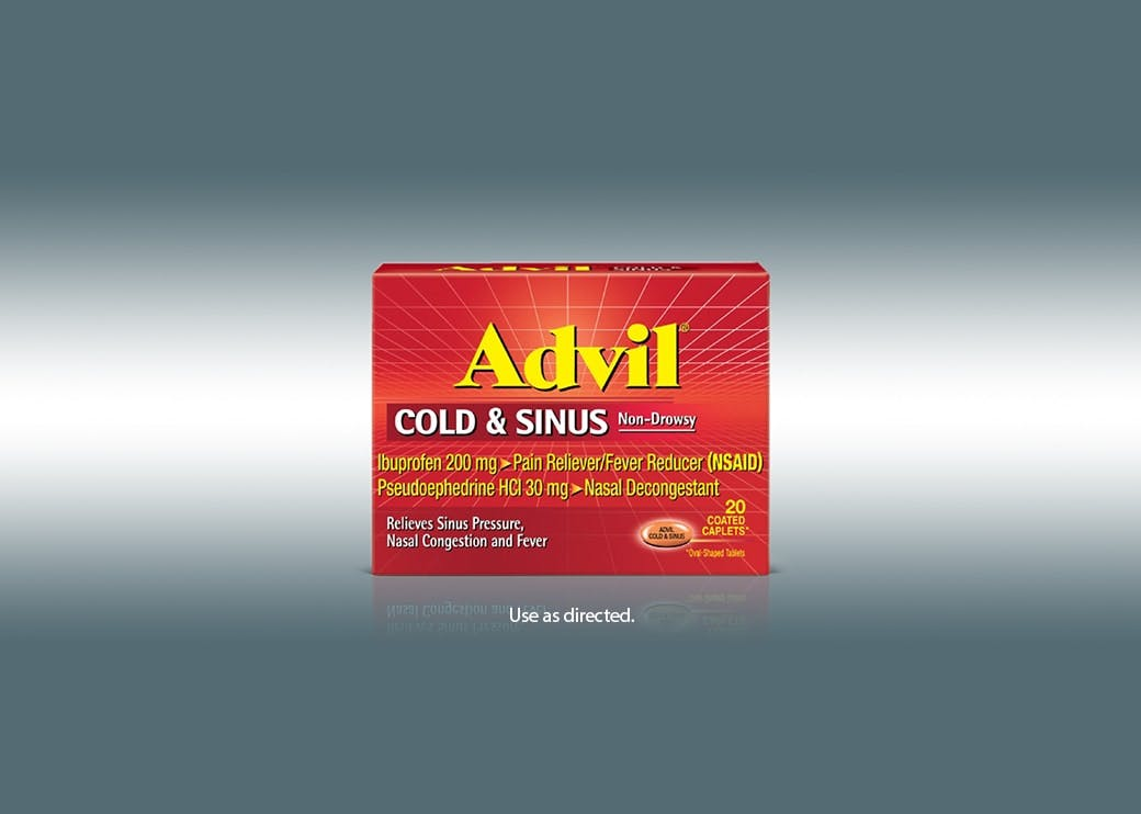 advil cold and sinus