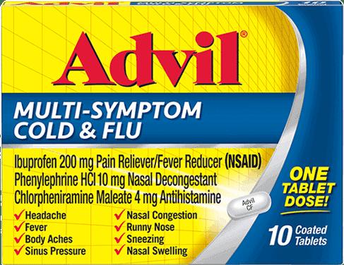 Advil Multi-Symptom Cold & Flu