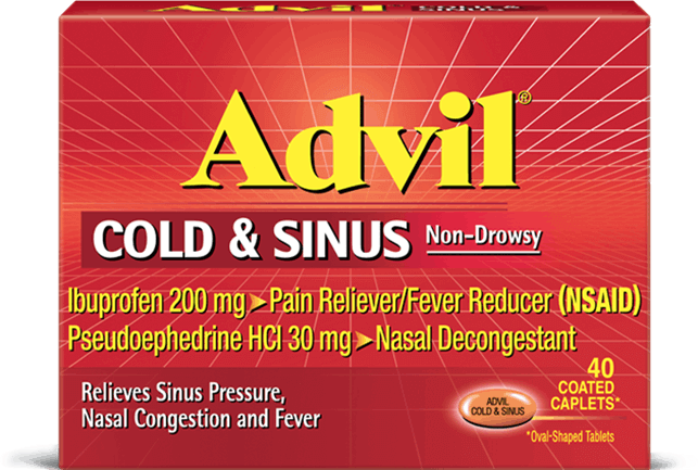 Advil Cold & Sinus