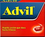 Advil capsulas 400 mg