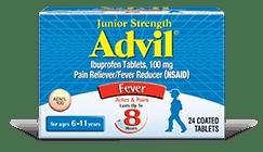 Junior Strength Advil Tablets