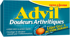 Advil Douleurs arthritiques package design