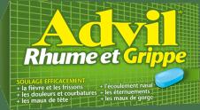 Advil Rhume et Grippe package design