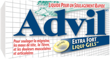 Liqui-GelsMD Advil Extra Fort package design