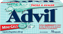 Advil mini-gelspackage design