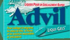 Liqui-GelsMD Advil package design