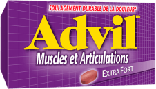 Advil Muscles et Articulations package design