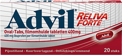 3D FRONT Advil RELIVA FORTE 400mg