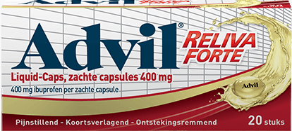 Advil Reliva Forte Liquid Caps 400mg