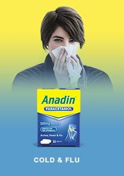 ANADIN FOR COLD & FLU