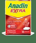 ANADIN EXTRA / ANADIN EXTRA SOLUBLE TABLETS